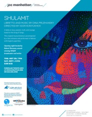 Poster, Opera Shulamit